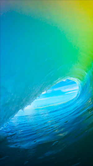 Wave iPhone 7 wallpaper
