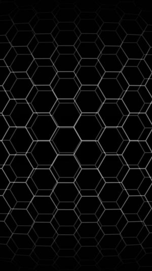 Abstract Hexagon iPhone 7 wallpaper