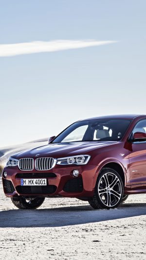 BMW X4 Landscapes iPhone 7 wallpaper