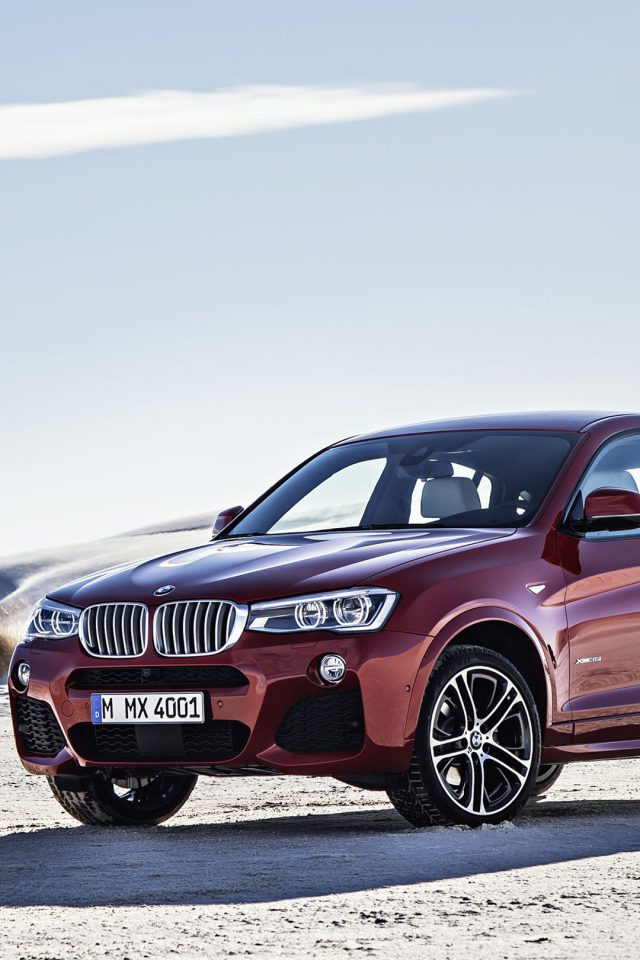 BMW X4 Landscapes iPhone wallpaper