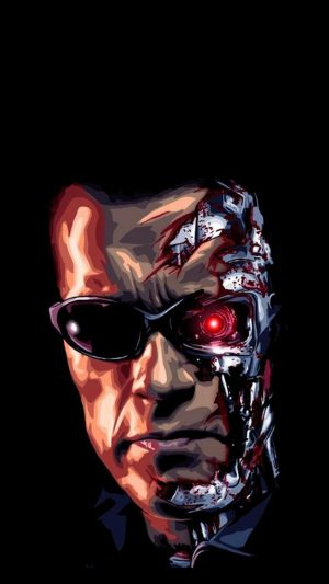 Terminator iPhone 7 wallpaper