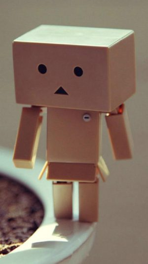 Danbo iPhone 7 wallpaper