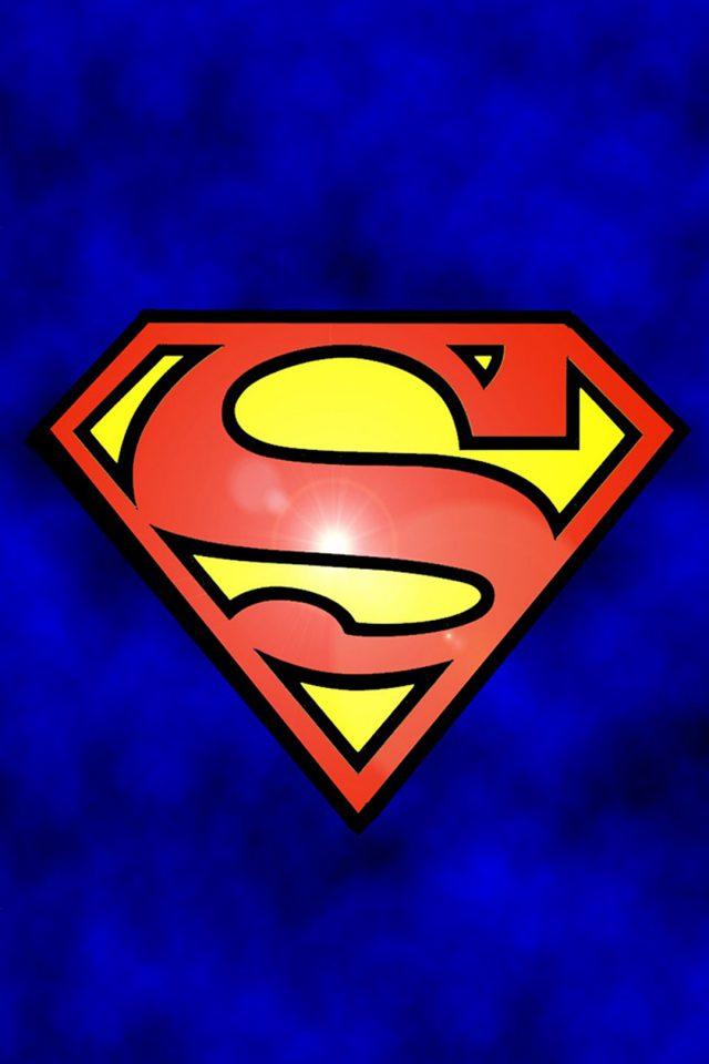 Superman Logo iPhone 7 wallpaper - iPhone7wallpapers.co