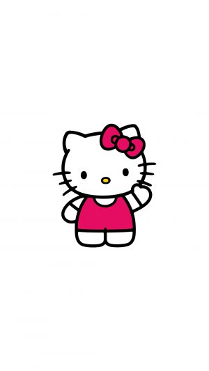 Hello Kitty Art Cute Logo Minimal iPhone 7 wallpaper