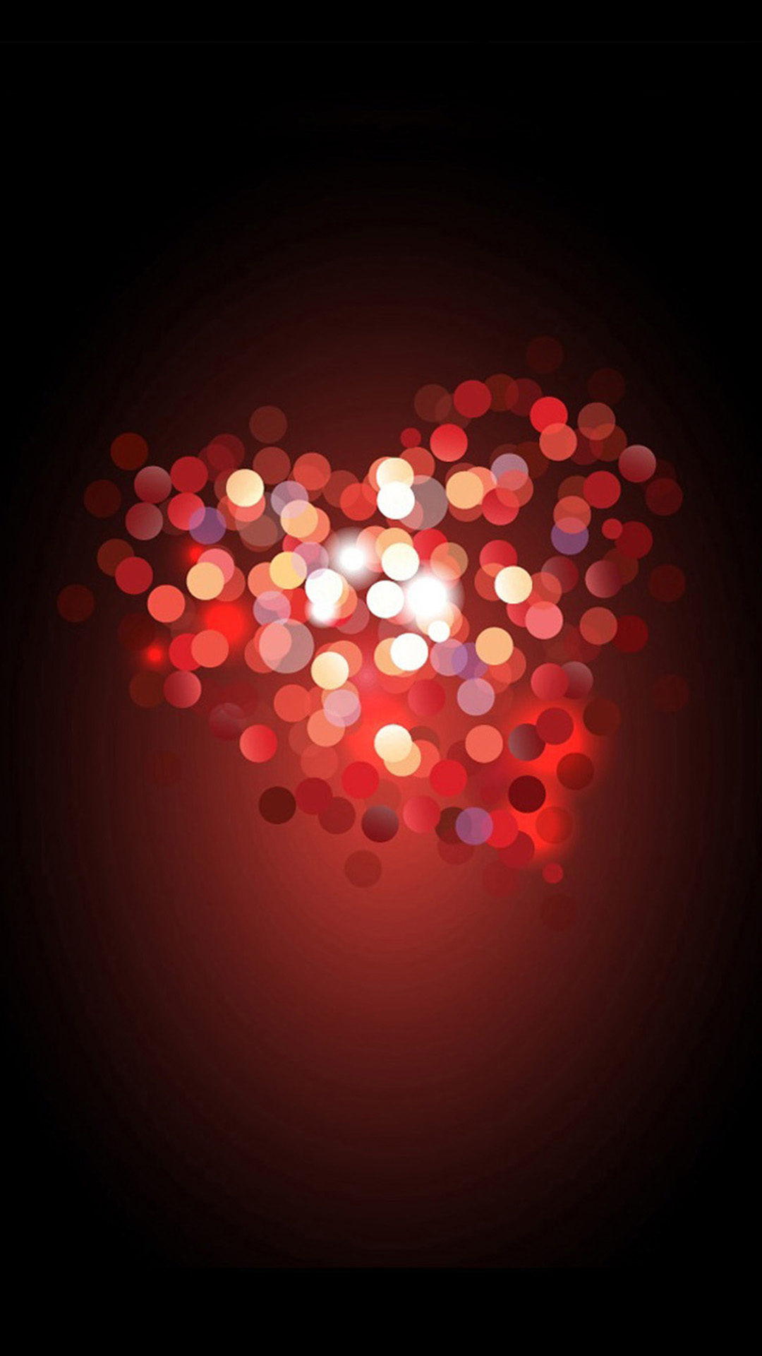 love heart bokeh iphone 7 wallpaper iphone7wallpapersco