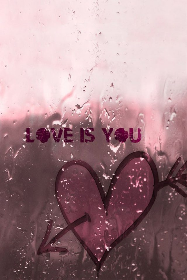 Love is You iPhone wallpaper