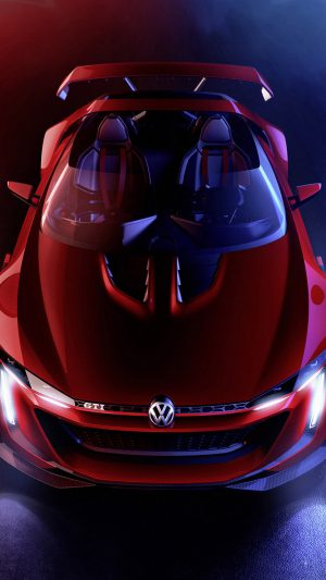 Pretty Volkswagen GTI Roadster iPhone 7 wallpaper