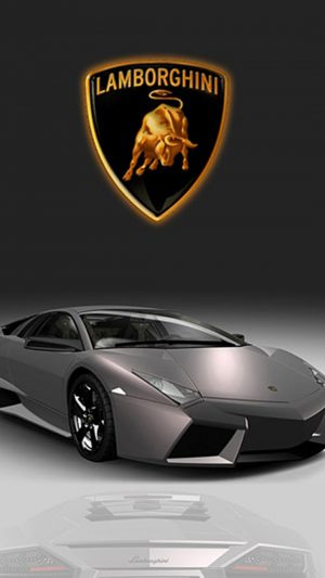 Pretty Gray Lamborghini iPhone 7 wallpaper