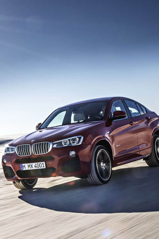 Red Bmw X4 Speed Iphone 7 Wallpaper Iphone7wallpapers Co