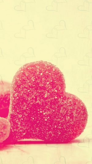 Sweet Heart Candy iPhone 7 wallpaper
