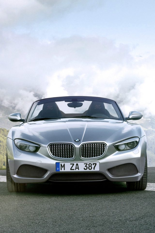 The New BMW Sports Car iPhone wallpaper