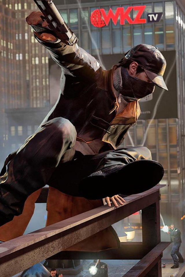 Watch Dogs 2 iPhone wallpaper