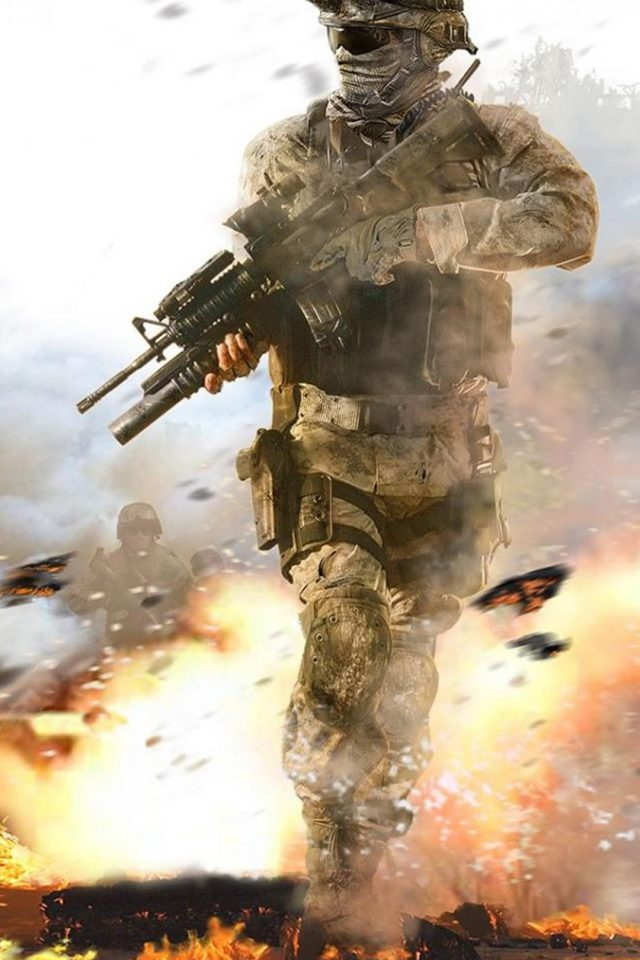 Call Of Duty Soldier Iphone 7 Wallpaper Iphone7wallpapers Co