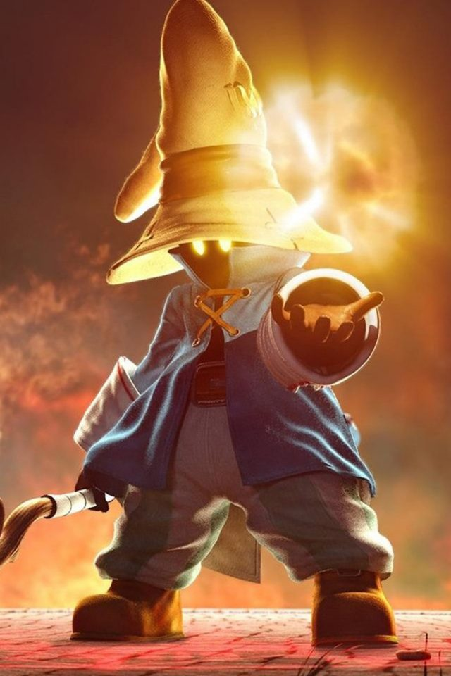 Final Fantasy IX Art iPhone wallpaper