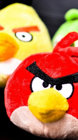 Real Angry Bird Toy iPhone 7 wallpaper