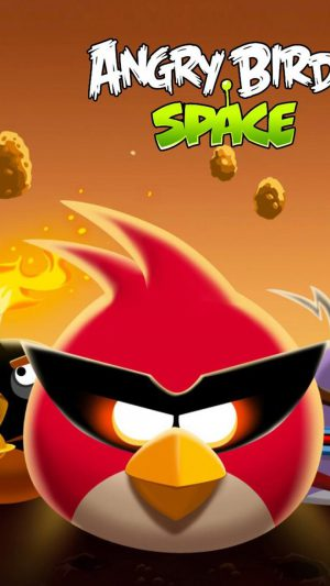 Angry Birds Space iPhone 7 wallpaper