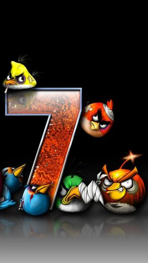 Angry Birds 7 iPhone 7 wallpaper