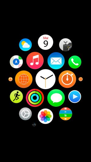Apple Watch Official 1 iPhone 7 wallpaper