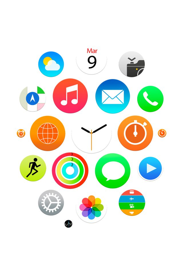 Apple Watch Official iPhone wallpaper