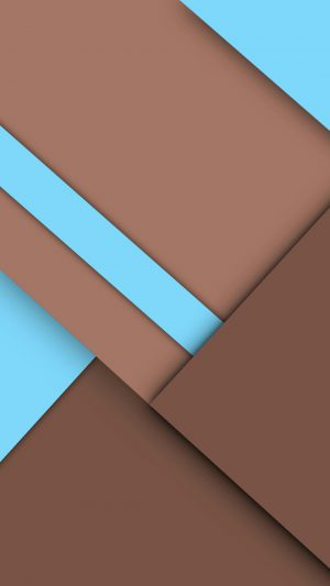 Brown Geometry Graphics iPhone 7 wallpaper