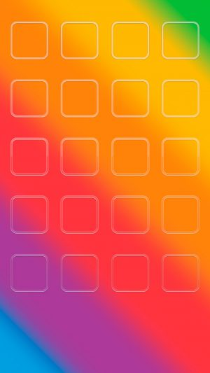 Colorful 228 iPhone 7 wallpaper