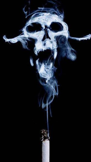 Smoke Skull iPhone 7 wallpaper