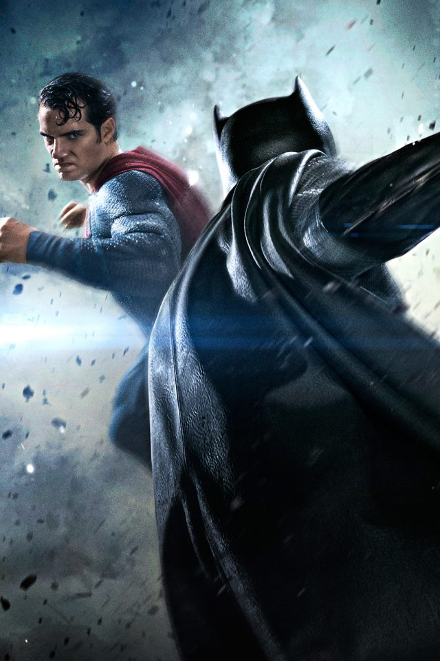 Batman Vs Superman Movie Fight Iphone 7 Wallpaper Iphone7wallpapers Co