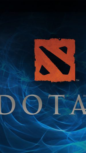 Dota 2 Logo iPhone 7 wallpaper