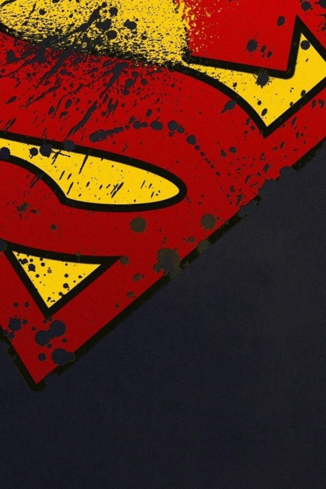 Superman Logo Hd Iphone 7 Wallpaper Iphone7wallpapersco