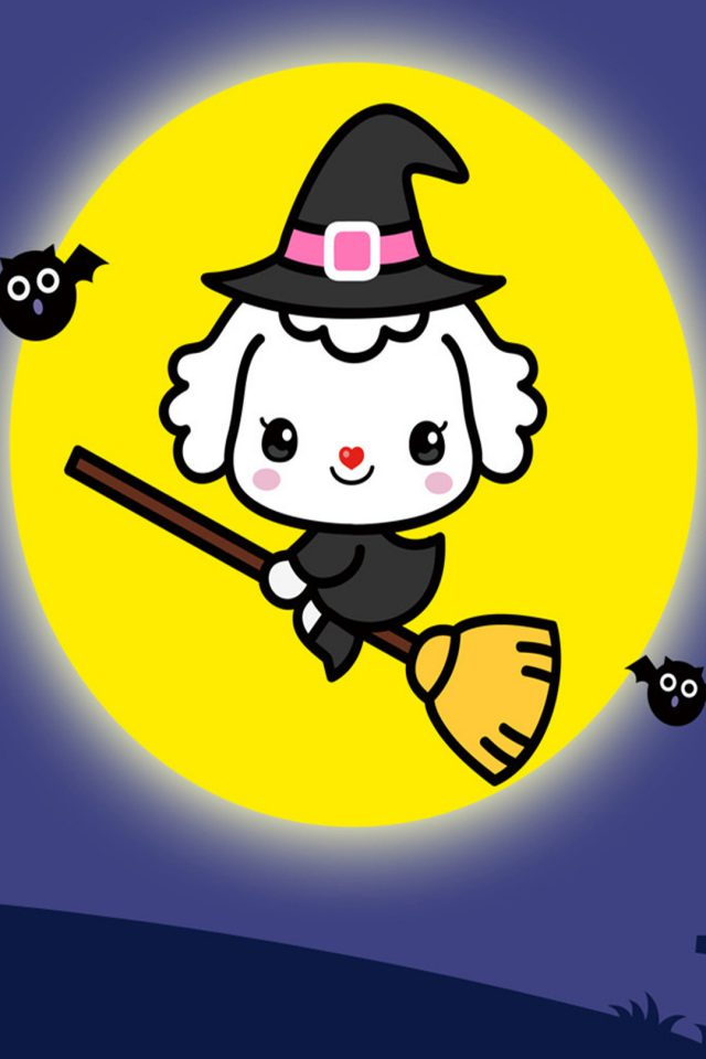 Cartoon Halloween 1 iPhone wallpaper