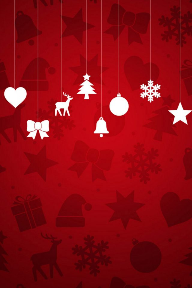 Christmas Red iPhone wallpaper