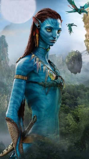 Avatar Female iPhone 7 wallpaper