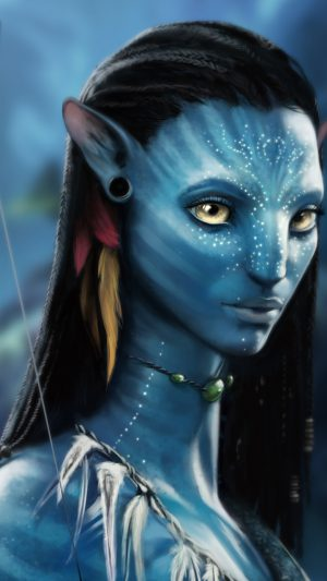 Avatar Actress iPhone 7 wallpaper
