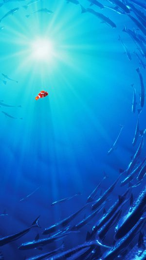 Finding Nemo Art Disney iPhone 7 wallpaper