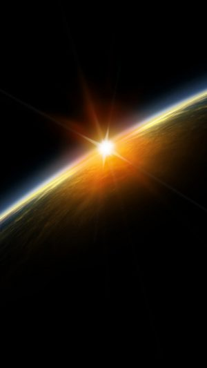 Light Across Space iPhone 7 wallpaper