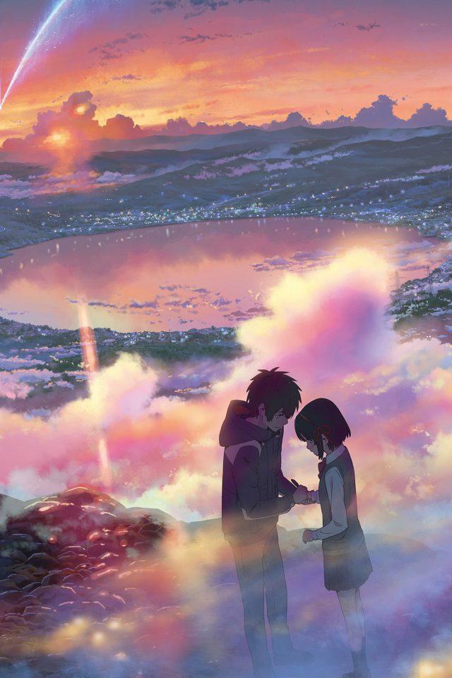 Yourname Anime Art Night Cute Kimi No Na Wa Iphone 7