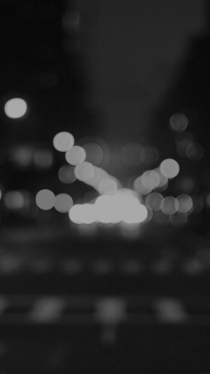 8th Avenue Chelsea Manhattan Dark Newyork Bokeh City iPhone 7 wallpaper