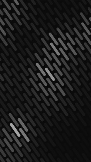 Abstract Dark Bw Dots Lines Pattern iPhone 7 wallpaper