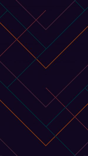 Abstract Dark Geometric Line Pattern iPhone 7 wallpaper
