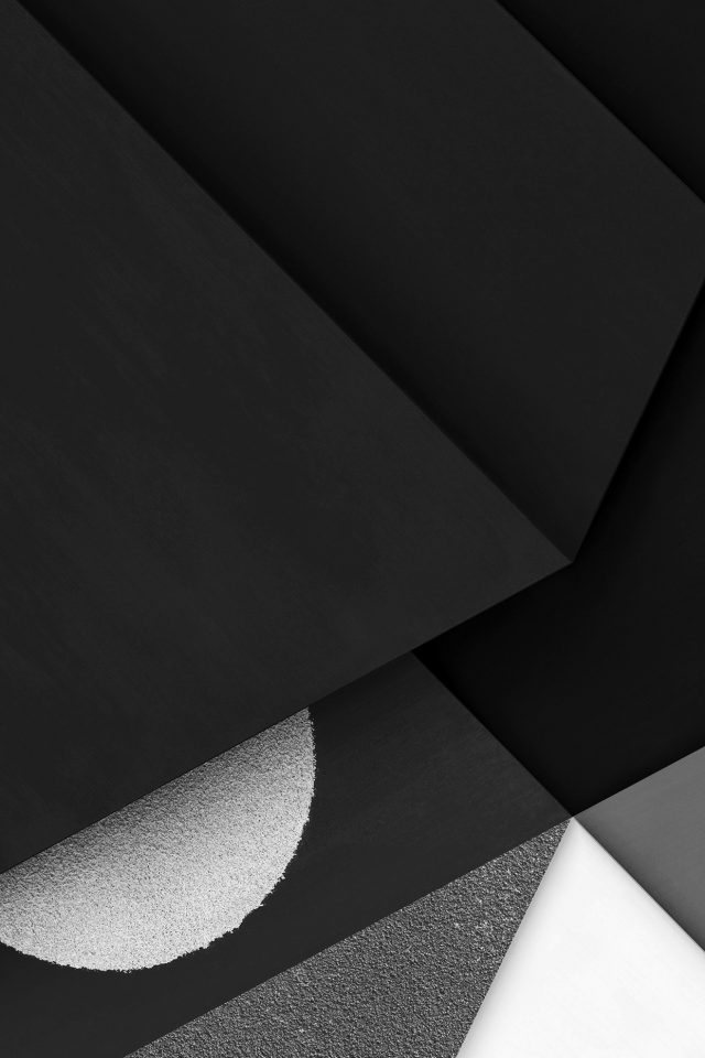 Abstract Earth Art Poly Dark Bw Galaxy Pattern Iphone 7