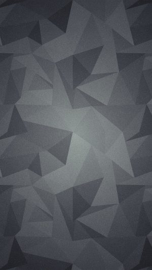 Abstract Polygon Dark Bw Pattern iPhone 7 wallpaper