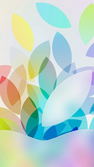 Apple Color Logo Illustration Art iPhone 7 wallpaper