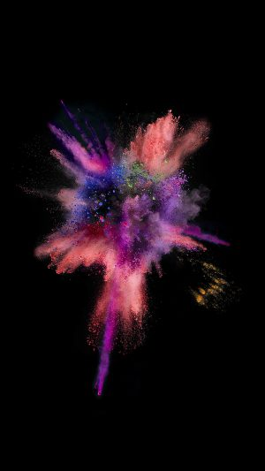 Apple Dark Spark IOS 9 Color Rainbow iPhone 7 wallpaper