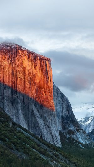 Apple El Capitan OSX Mac Mountain Wwdc Nature iPhone 7 wallpaper