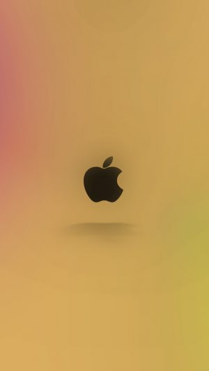Apple Logo Love Mania Rainbow iPhone 7 wallpaper