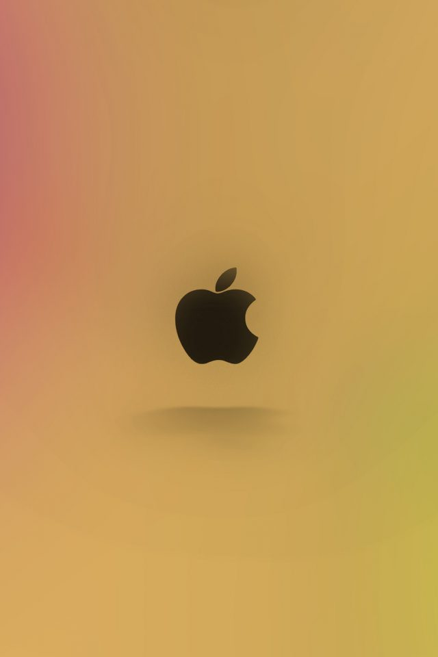 Apple Logo Love Mania Rainbow iPhone wallpaper