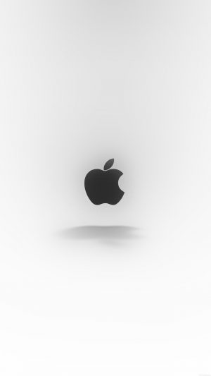 Apple Logo Love Mania White iPhone 7 wallpaper