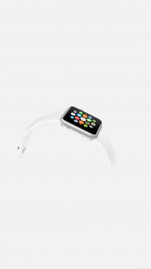 Apple Watch White Sports Art iPhone 7 wallpaper