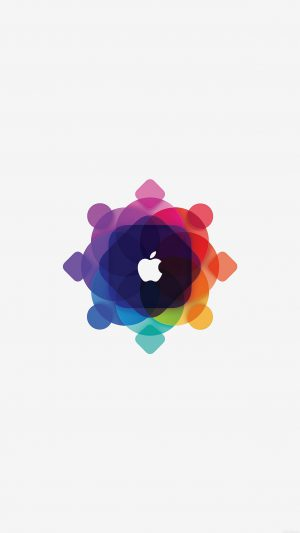 Apple Wwdc Art Logo Minimal White iPhone 7 wallpaper