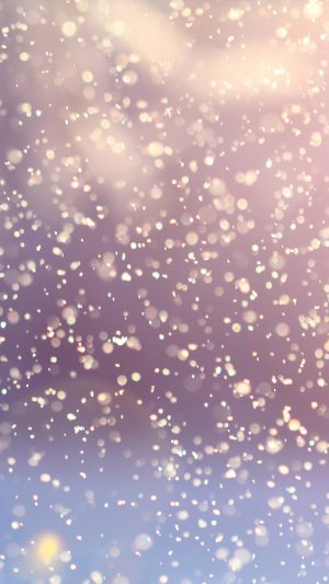 Bokeh Snow Flare Water Splash Pattern iPhone 7 wallpaper